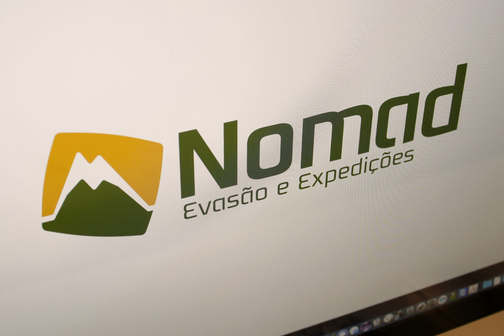 Logótipo Nomad 2
