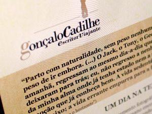 GONÇALO CADILHE – Website
